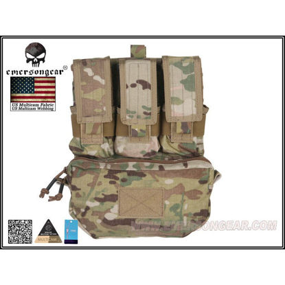 Emerson Gear Assault Back Panel - Multicam