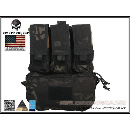 Emerson Gear Assault Back Panel - Multicam Black