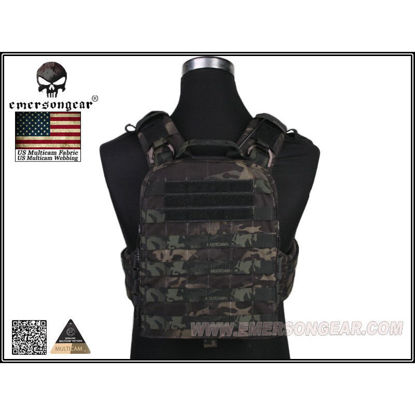 Emerson Gear AVS Adapted Vest Heavy Duty version - Multicam Blk