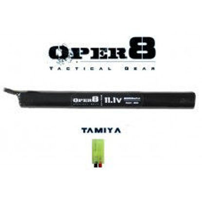 Oper8 11.1V Li-ion 2500MAH Stick Battery - Tamiya