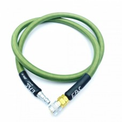 EPES 100cm Braided HPA hose - Olive Green