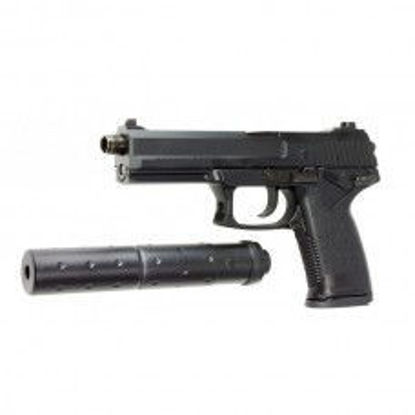ASG MK23 SOCOM Pistol With Barrel Extension Silencer