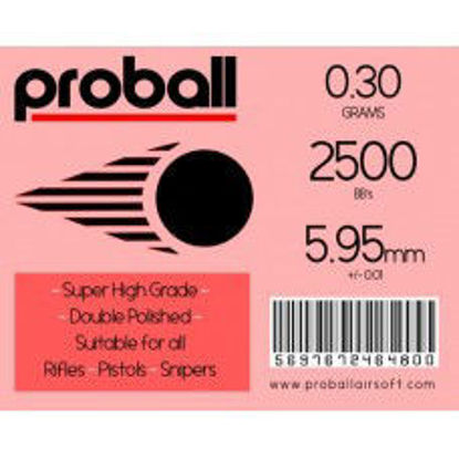 Proball 0.30g high grade bag of 2500