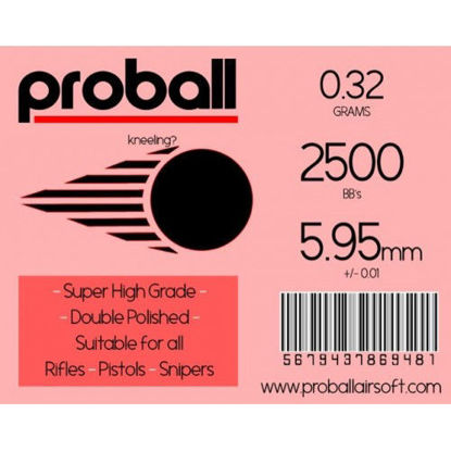 Proball 0.32g high grade bag of 2500