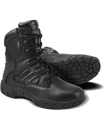 Tactical Pro Boot - Black - All Leather