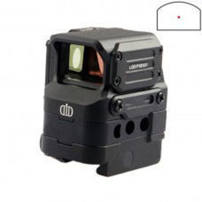 FC1 style optical Red dot sight - Black