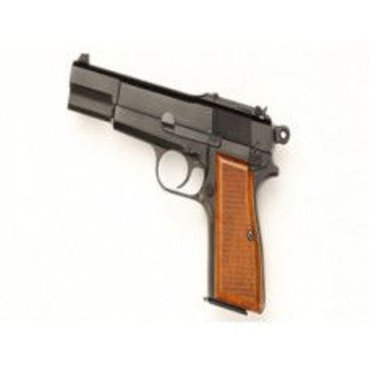 WE Browning Hi-Power GBB Pistol Black