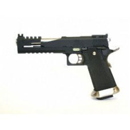 "WE Hi-capa 6"" T-Rex Custom with Titanium barrel - Black"