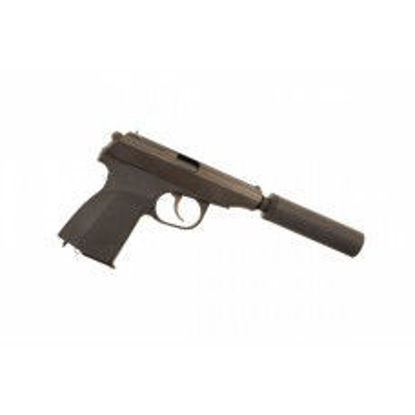 WE Makarov w/ silencer & extended barrel (Black)