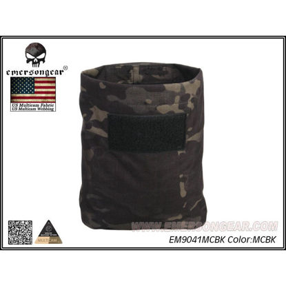 Emerson Gear Folding Dump pouch - Multicam Black