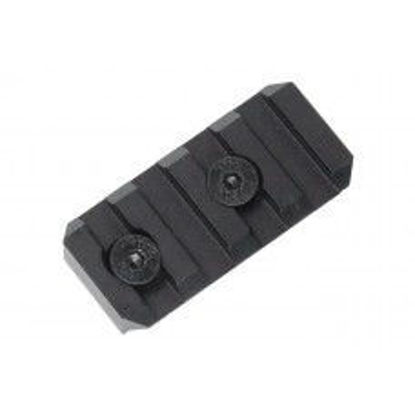 Oper8 4 slot Keymod Rail section- Black