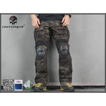 Emerson Gear G3 Combat Pants Multicam Black 36W