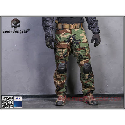 Emerson Gear G3 Combat Pants Woodland 30W