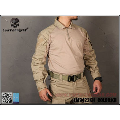Emerson Gear G3 combat shirt - Khaki- (Medium)