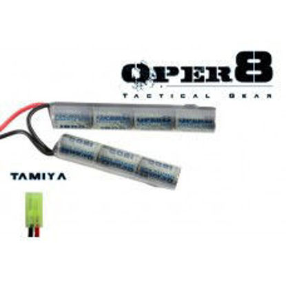 Oper8 8.4v 1600 mah crane stock battery - Mini Tamiya