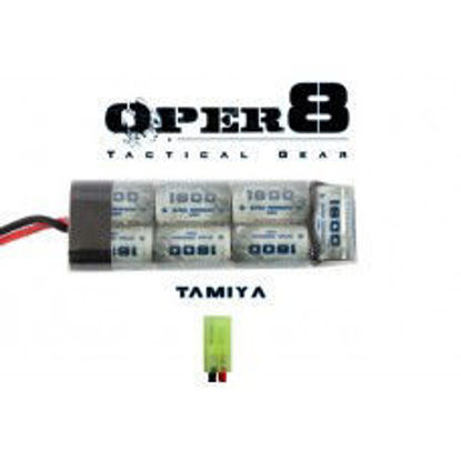 Oper8 8.4v 1600 MAH Mini Battery Tamiya