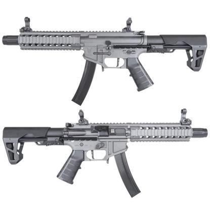 King Arms PDW 9mm SBR Long - Gun Metal Grey