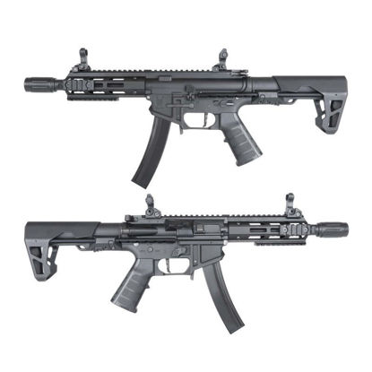 King Arms PDW 9mm SBR M-LOK - Black
