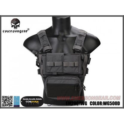 Emerson gear Micro Fight Chassis MK3 Chest Rig - Wolf Grey
