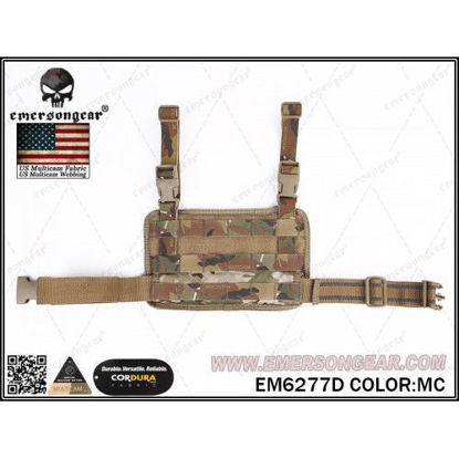 Emerson Gear Molle Leg Panel - Multicam