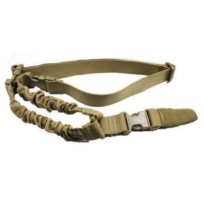 Oper8 Tactical heavy duty single point sling (Tan)