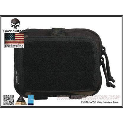 Emerson Gear Multi-purpose Admin Map Bag - Multicam Black