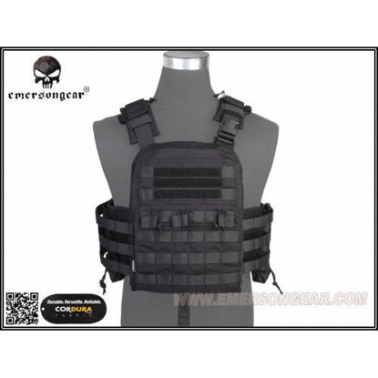 Emerson Gear NCPC Navy Cage plate carrier Black
