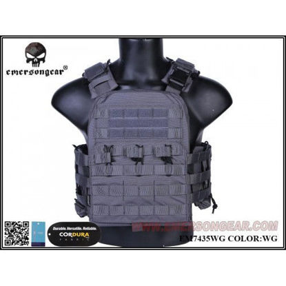 Emerson Gear NCPC Navy Cage plate carrier Wolf Grey