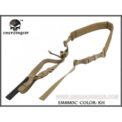Emerson Gear Quick Adjust Padded 2 point sling - Khaki