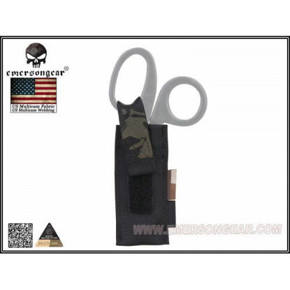 Emerson Gear Tactical Scissors Pouch - Multicam Black