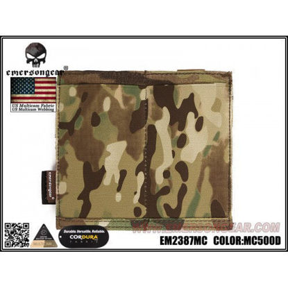 Emerson Gear Double Elastic M4 Pouch - Multicam