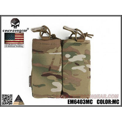 Emerson Gear Double mag pouch for SS Tac Vest - Multicam