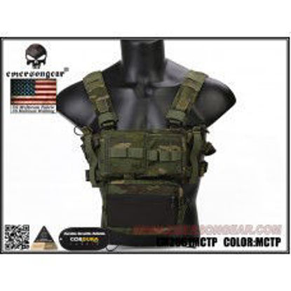 Emerson gear Micro Fight Chassis MK3 Chest Rig - MultiCam Tropic