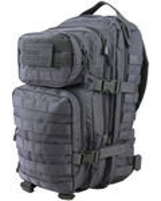 Hex - Stop Small Molle Assault Pack- Gun Metal Grey