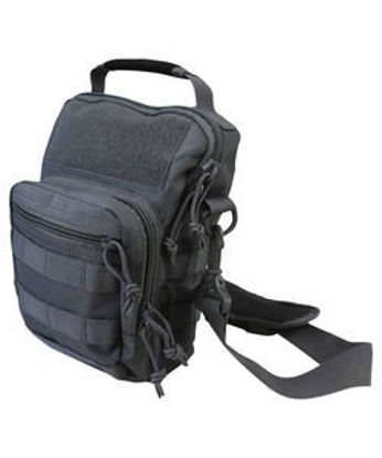 Hex - Stop Explorer Shoulder Bag - Gunmetal Grey