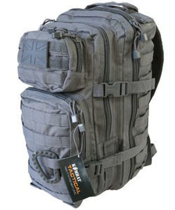 Small Molle Assault Pack 28 Litre - Gunmetal Grey