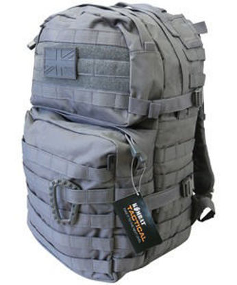 Medium Molle Assault Pack 40 Litre - Gunmetal Grey