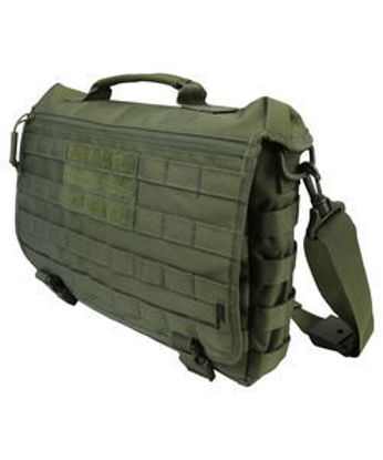Medium Messenger Bag - 20L - Olive Green