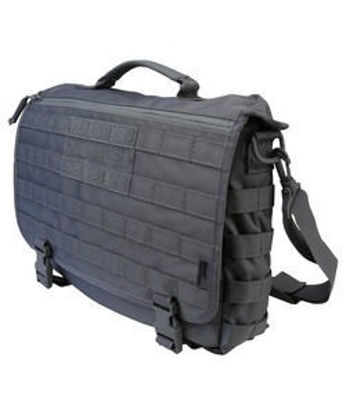Medium Messenger Bag - 20L- Gunmetal Grey