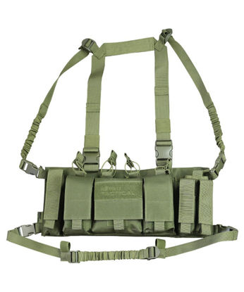 Trojan Chest Rig - Olive Green