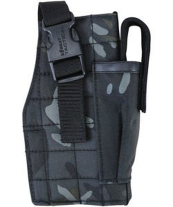 Molle Gun Holster with Mag Pouch - BTP Black