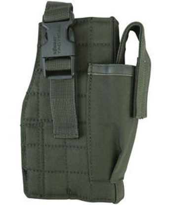 Molle Gun Holster with Mag Pouch - Olive Green