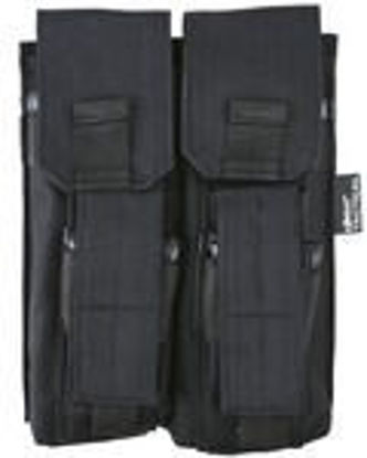 Double Mag Pouch with PISTOL Mag - Black