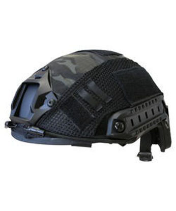 Fast Helmet Cover - Multi-Terrain Black