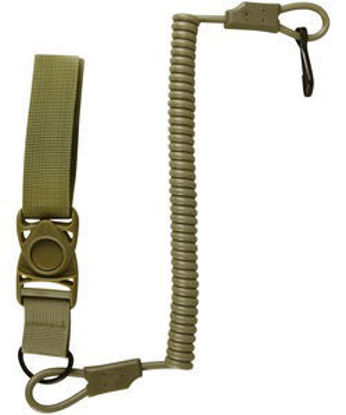 Tactical Pistol Lanyard - Coyote