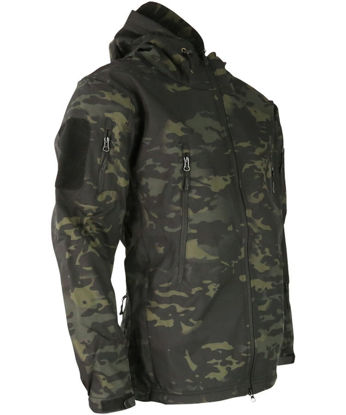 PATRIOT Tactical Soft Shell Jacket - MT Black