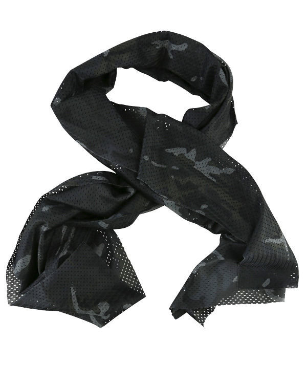 Tactical Scarf - BTP Black british terrain pattern