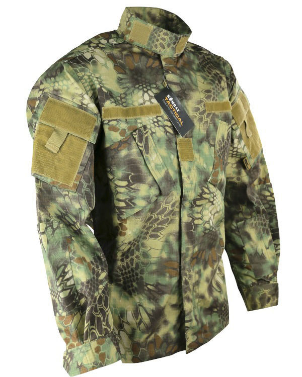 Assault Shirt - ACU Style - Raptor Kam - Jungle