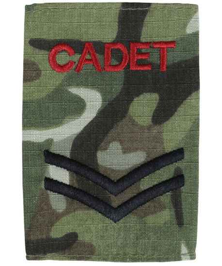Cadet Rank Slides - Corporal (pair)