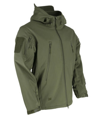 PATRIOT Tactical Soft Shell Jacket - Olive Green